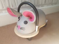 Hippychick Mouse Wheely Bug Ride-On, Small - Excellent Condition
