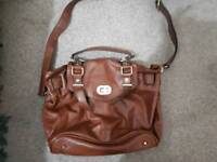 Coast large brown shoulder bag