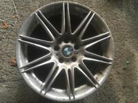 "19"" mv4 rear alloy wheel single spare Bmw 3 series"