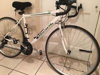Women's road bike (19 inch frame) and kit