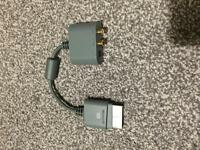 Xbox 360 scart to rca cable