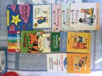 Toy bundle for 2-5/Pre sch inc books, puzzles, games, computer and construction and wooden alphabet