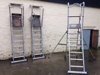 ZARGES 6 TREAD SHERPASCOPIC SAFETY STEP LADDER