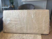 little green sheep dual sided twist natural cot bed mattress