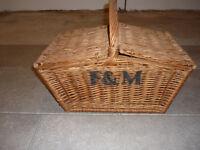 Fortnum and Mason hamper basket