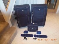 Tripp Luggage / Suitcase Set - Two Large Suitcases, Holdall Bag & 2 x T.Cook Travel Kits
