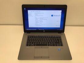 Business Laptop - HP 850, G2, 15.6'', Core i5-5200U@ 2.2GHz, 8GB Ram