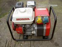 Honda EG1500X Generator.