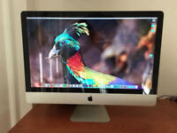 WITH ALL BOXES - Apple iMac 27 inch display, Mid 2010, 2.93Ghz Intel Core i7, 4GB1333MHz DDR3, 1TBHD