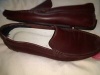 Brown Lacoste Shoes/Loafers size 10
