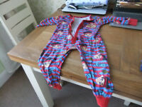 Boys Age 2-3 Year Sleepsuits 50P Each