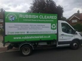 Rubbish Removal & Waste Clearance in Woolwich & Surrounding Areas