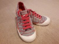 Pink Rocket Dog Trainers (Size 4) *never worn*