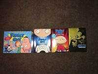 Family Guy seasons 1-11 and film Trilogy