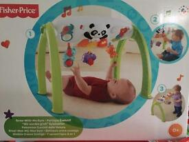 Fisher price learn and grow playgym fully boxed as new baby from birth