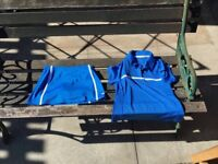 Wilson girl's tennis outfit
