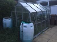 Aluminium greenhouse free!