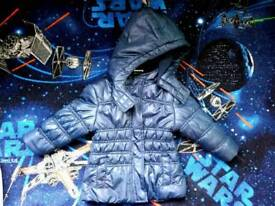 Beautiful girls fitted winter jacket with hood