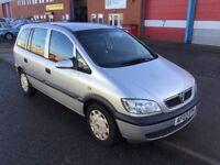 Automatic Vauxhall Zafira—-12 months mot,ser/ history,changed cambelt,ac,cd,2 keys,excellent runner