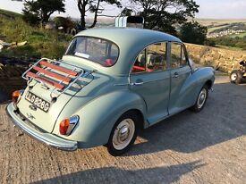1969 Morris minor 1000 4 door saloon super car used by TV companies
