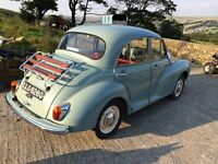 1969 Morris minor 1000 4 door saloon super car used by TV companies