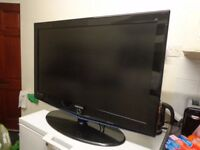 samsung 40 inch hd lcd tv with freeview good working order with remote ONLY £99+DELIVERY AVAILABLE