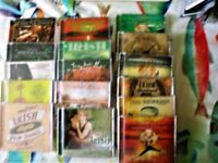 IRISH MUSIC COLLECTION,16 DISCS, PUB SONGS, DANCE SHOWTIME,SHOWBAND,LOVE SONGS 11 SEALED 5 UNPLAYED