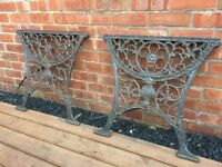 Cast Iron Bench Ends Garden Patio Benches For Sale Gumtree