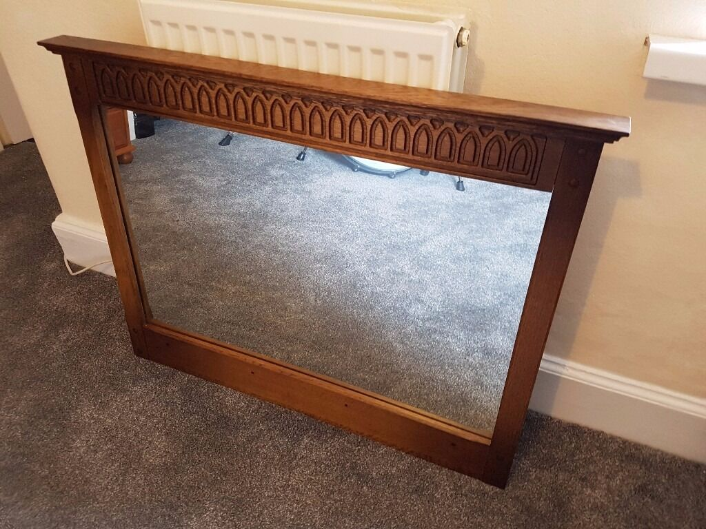 Oak mirror 70 x 90 cm in yate bristol gumtree for Miroir 70 x 70