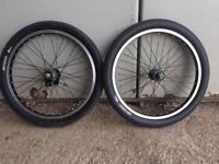 BMX wheels Haro