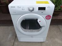 HOOVER 9KG CONDENSER TUMBLE DRYER FULLY REFURBISHED COMES WITH 3 MONTHS WARRANTY