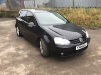 VOLKSWAGEN GOLF, 2.0, GT TDI, DIESEL, 12 MONTHS MOT, 1 OWNER FROM NEW