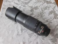 Nikon 70-300 VR lens