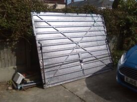 """FREE garage door to who picks up. Up and Over 72 X 94 1/4 """""""