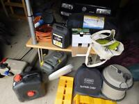 Miscellaneous caravan accessories. Second hand but in working order.