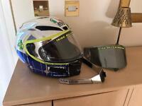 AGV Mugello Corsa Valentino Rossi Motorbike Helmet