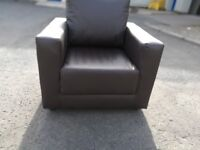 Brown Armchair - Brand New Club Chair - 1 left ONLY 30.00