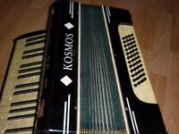 Kosmos Piano Accordian , 48 base