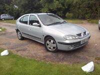 Renault Megane 2002, 1.6 petrol, No advisories on last MOT
