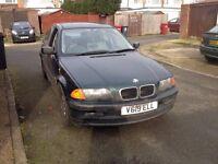 BMW 318i Quick Sale!! REDUCED SPARES/REPAIRS