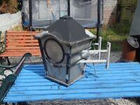 Garden lamp / outdoor lighting / patio / decking light / cast aluminium garden lamp / garden salvage