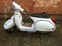 Vespa PX 125 2T **SPORTS EXHAUST, CHROME RIMS**