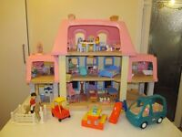 Little Tykes Vintage Doll's House + Furniture