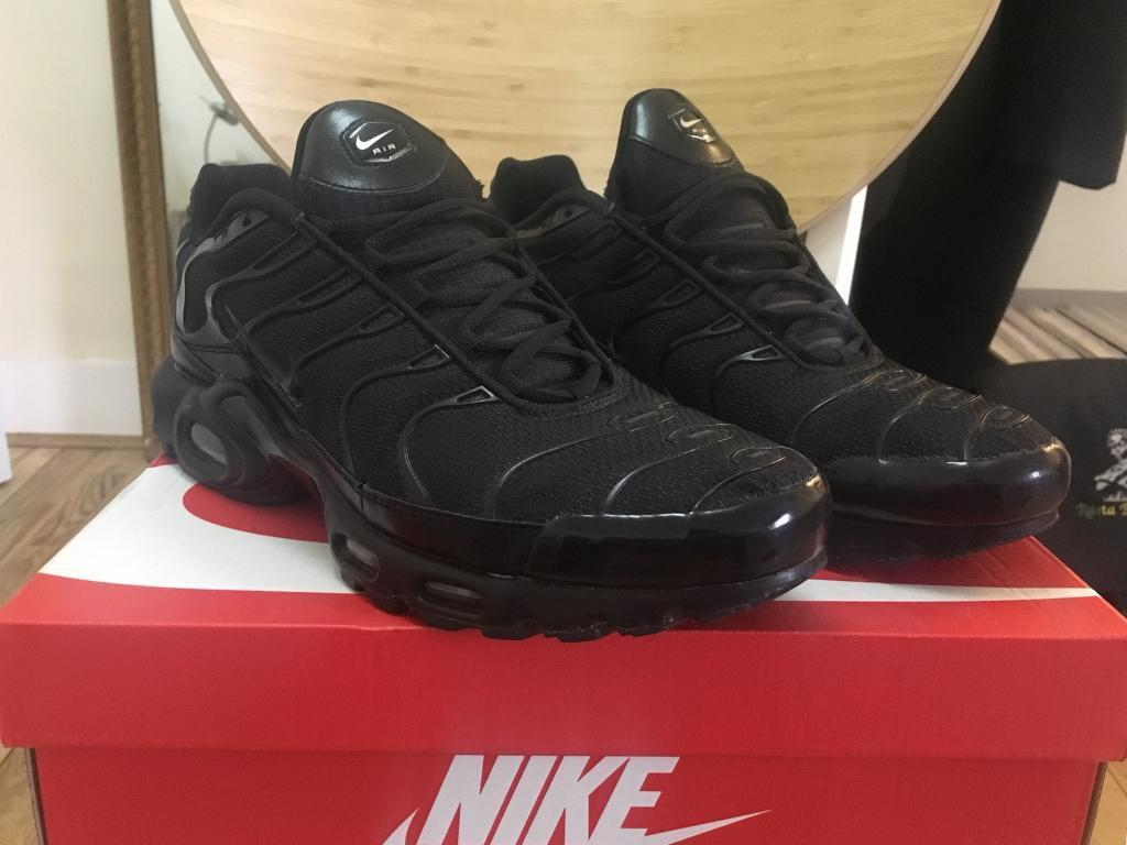 f229259159 NIKE Air Max Plus TN 2018 / Triple Black / UK 12 | in East Dulwich ...