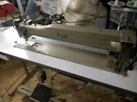 Pfaff industrial walking foot sewing machine thirty inch throat