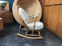 Ercol Rocking Chair. Retro Vintage Mid Century
