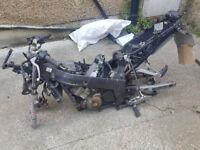 2004 Honda CBR 125cc Frame