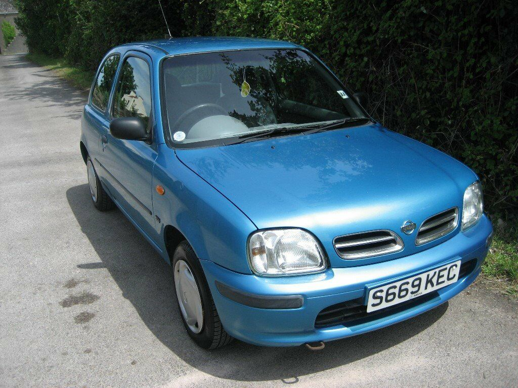 1998 nissan micra 1 0 very low mileage 3 owners in. Black Bedroom Furniture Sets. Home Design Ideas