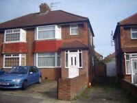 3 bedroom semi-detached house with off street parking in Burnt Oak/Edgware