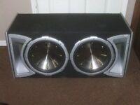 XL SUBWOOFER AND KENWOOD AMP £110 O.N.O